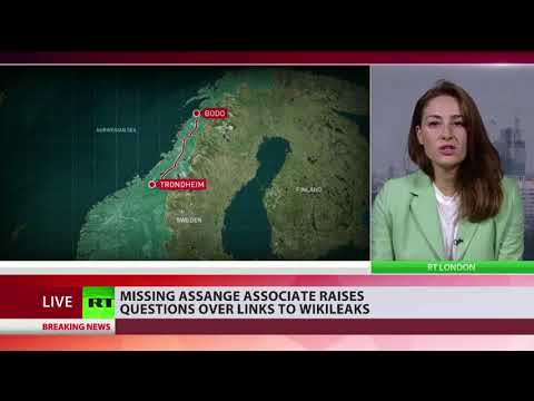 Missing Julian Assange associate raises questions over links to Wikileaks