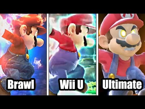 Super Smash Bros: Brawl VS Wii U VS Ultimate (Final Smash Comparison)