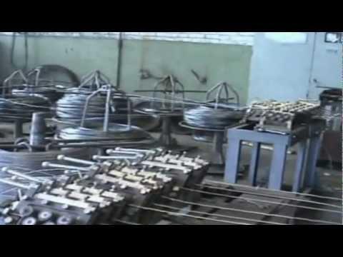 Производство кладочной сетки на  линии ЛТС-1000К1