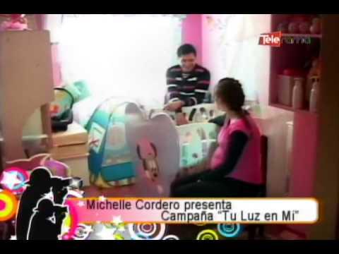 Michelle Cordero presenta campaña Tu Luz...