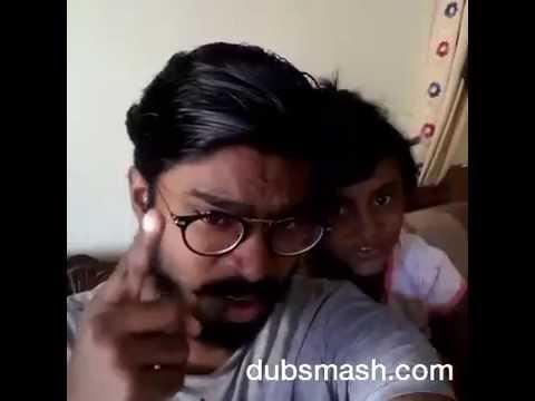 Dhanush Dubsmash! (Keerthi & Diya)