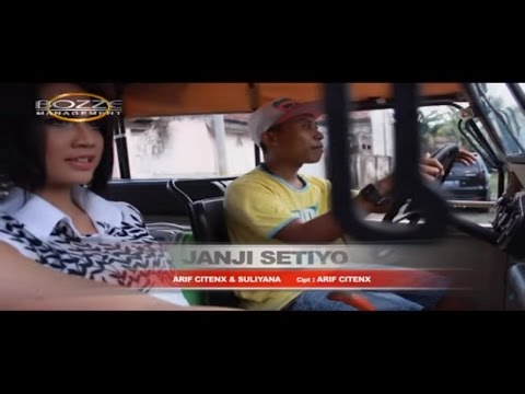 ARIF CITENX & SULIYANA - JANJI SETIYO [ OFFICIAL KARAOKE MUSIC VIDEO ]