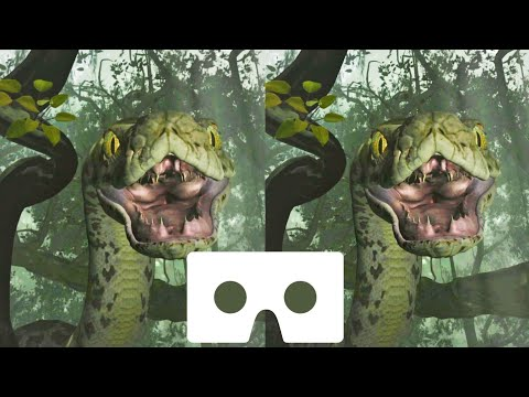 Disney VR Video Jungle Book Snake 3D SBS Google Cardboard Not 360