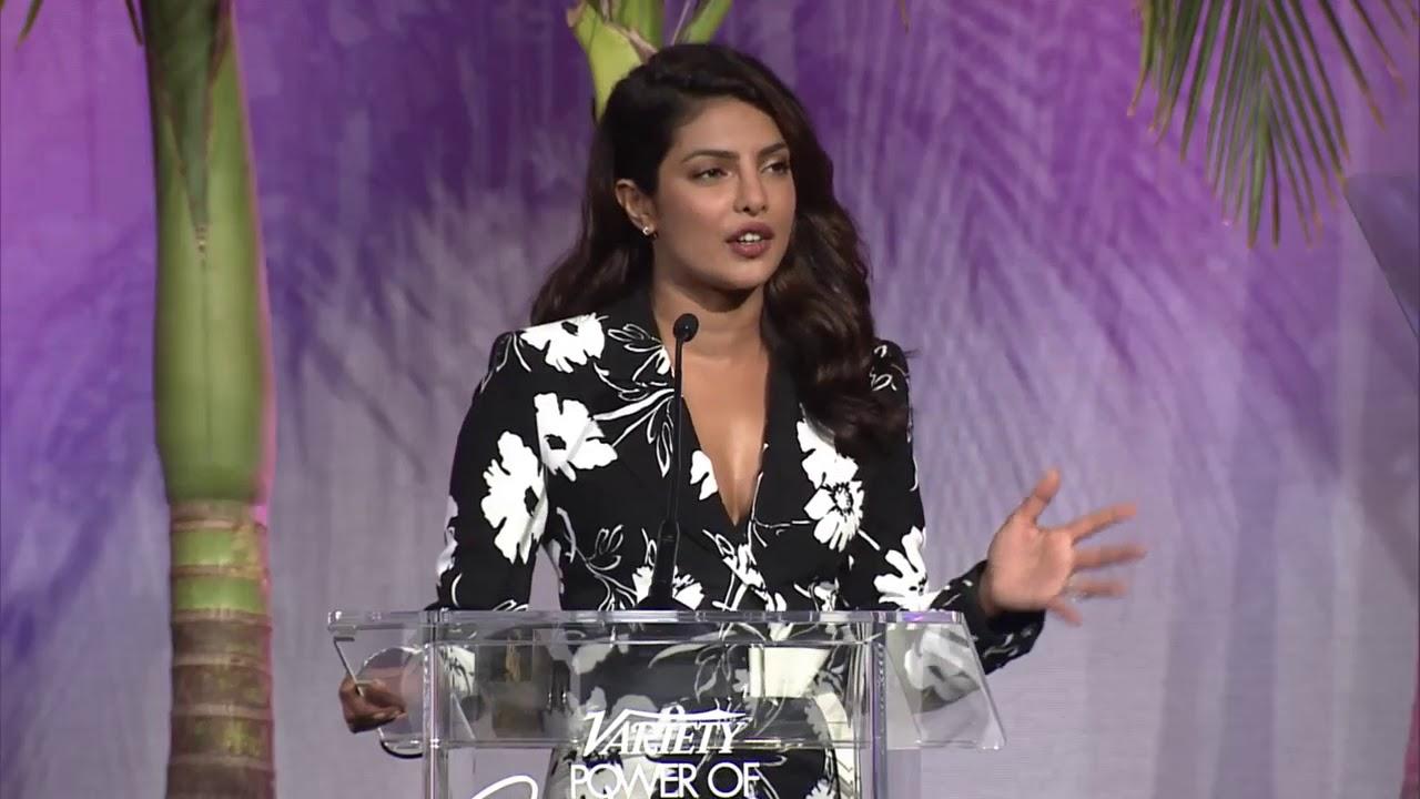 Priyanka Chopra - Full Power of Women Speech