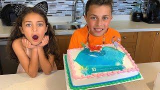 Heidi and Princess Birthday Cake with Toy