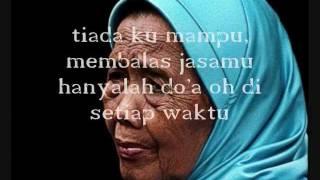 Rafly-lagu ibu (lirik)