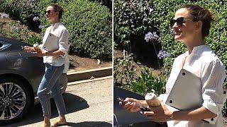 EXCLUSIVE - Jennifer Garner Is Asked How She's Adjusting To Ben's New Girlfriend, Lindsay Shookus