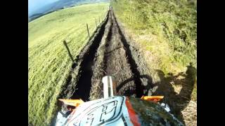 WOR Enduro Llandrillo Forest. 3.3.12 Race part 1