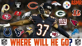 Bryce Callahan Free Agency Prediction NFL Free Agency ASMR Chicago Bears Bryce Callahan