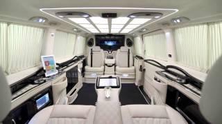 видео тюнинг салона микроавтобусов