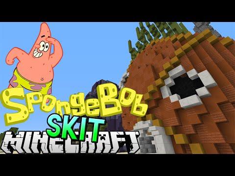 Minecraft: A Day in the Life of Patrick Star (Spongebob Minecraft Skit)