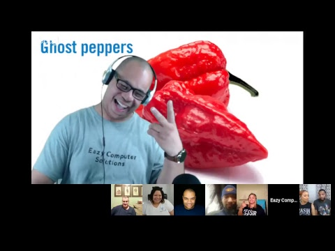 Ghost Peppers Challenge Live & Tech | Wired Wednesday 3/13/2019