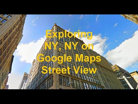 Exploring New York, NY on Google Maps Street View - YouTube