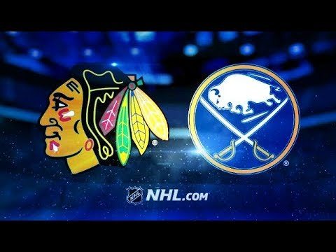 CHICAGO BLACKHAWKS VS BUFFALO SABRES 3/17/18