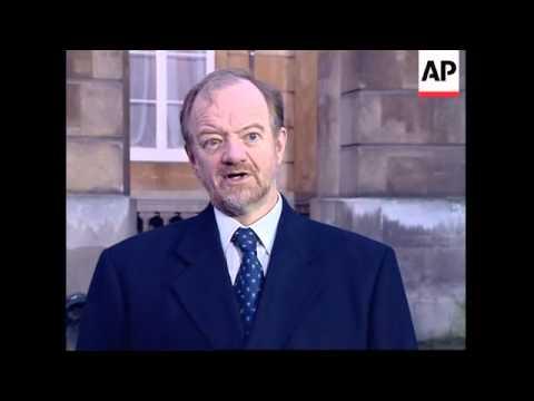 UK: LONDON: CONTACT GROUP KOSOVO CRISIS MEETING
