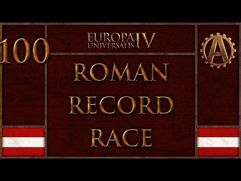 EUIV The Holy Roman Record Race 100