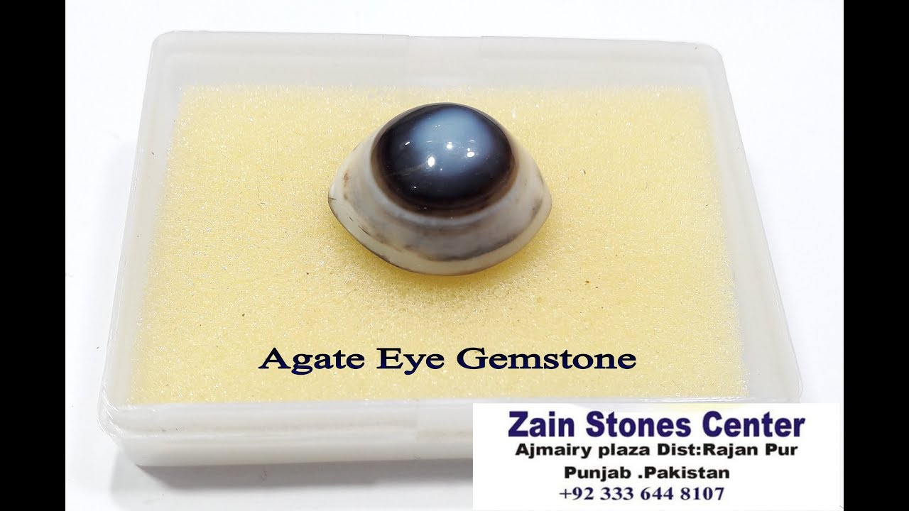 Agate Eye Stone Naturl | Aqeeq Eye Stone | Agate price in Pakistan ...