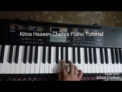 Kitna Haseen Chehra (Dilwale) Piano Tutorial