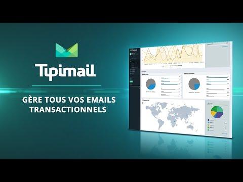Tipimail - Envoyez vos emails transactionnels tout simplement