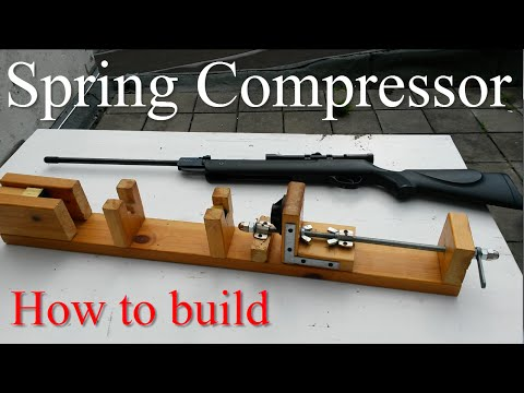 DIY How To Make a Homemade Airgun Spring Compressor Tool Plans Air Rifle Maintenance Disassembly