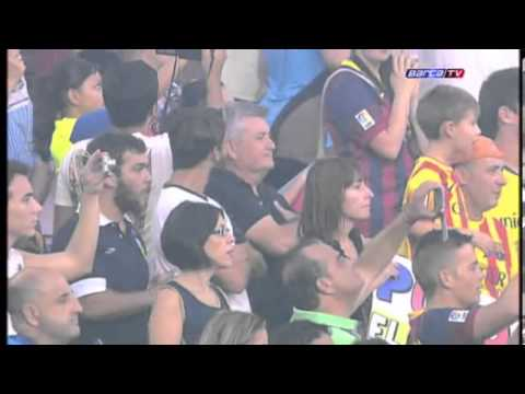 Presentació del Equipo Barça 2013-14