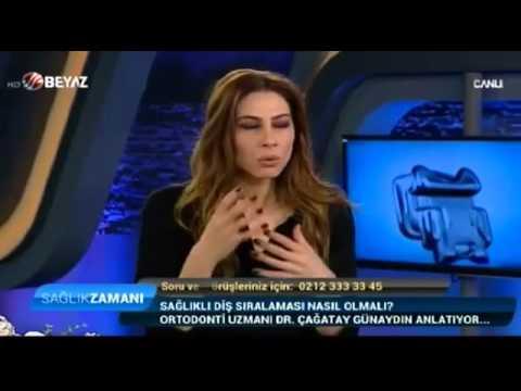 ORTODONTİ UZMANI DR  ÇAĞATAY GÜNAYDIN & DT  DOĞAN BİRCAN   BEYAZ TV SAĞLIK ZAMANI 13 12 2015
