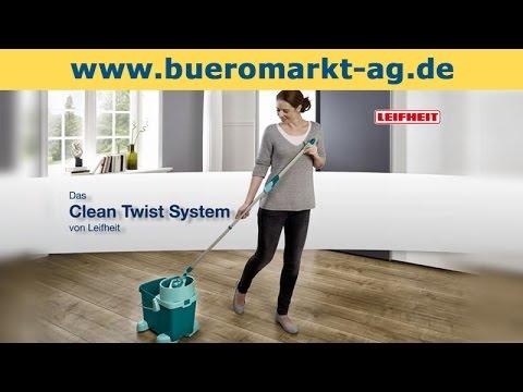 Leifheit Wischbezug Twist System Set 3-teilig
