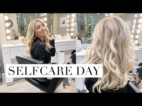 SELF CARE DAY ~ hair, facial, brows & NEW MACBOOK UNBOXING ✨ Vlog #14