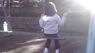 土浦亀城公園のブランコ