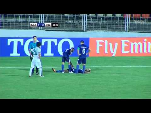 India vs Saudi Arabia | AFC U-16 | 2nd half (post 65th min.)