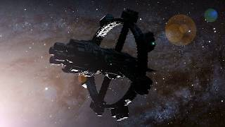 SpaceShips - Relaxation Music with HD SPACE VIDEOS Relax in Space - Blank Screen for Sleep