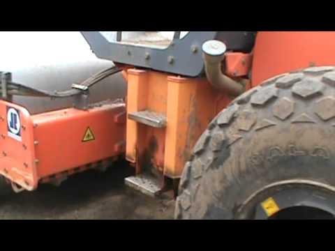 Hamm 3410 vibra roller walkaround