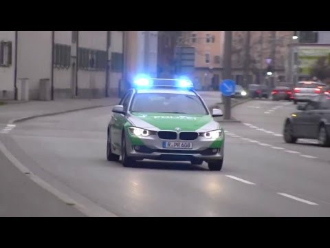 German police cars: State Police, Highway Patrol, SWAT, Riot Police, MP, Federal Police