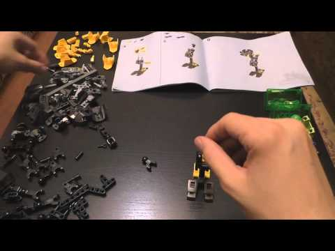 ASMR / Relaxing Assembly of LEGO Hero Factory 44022. Part 1/2
