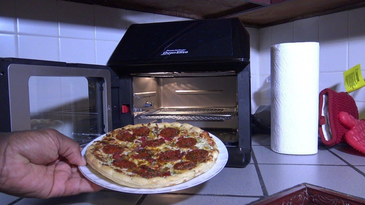Frozen Pizza Power Air Fryer Oven Elite Heating Instructions
