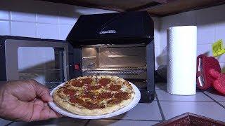 Frozen Pizza, Power Air Fryer Oven Elite Heating Instructions
