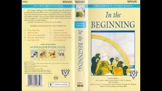 Children's Video Bible Volume 1 - In The Beginning (1991 UK VHS)