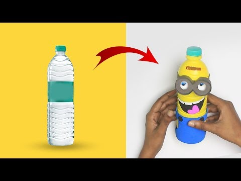 How To Make Minion Money Bank For Kids | Use Of Waste | Plastic Bottle | DIY