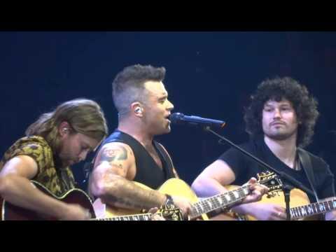 Robbie Williams - Motherfucker - 23/10/15 Melbourne HD