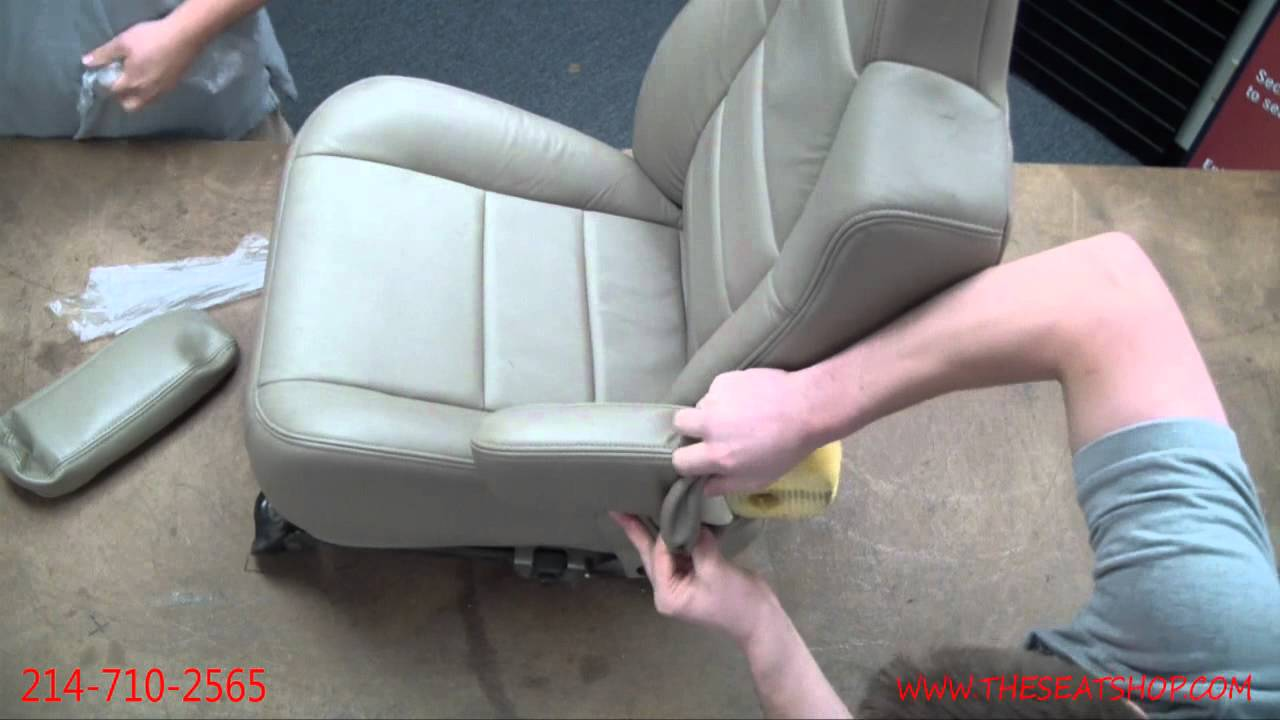 Ford Repair Shop >> Ford F250/350, Excursion, Expedition Armrest Cover Install - YouTube