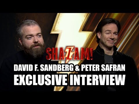 SHAZAM! Director David F. Sandberg And Producer Peter Safran - Exclusive Interview