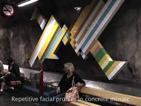 Tunnelbana. Art in the Stockholm metro di Raffaele Barba