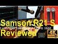 Samson R21S unboxed, reviewed, and compared to Sure SM58