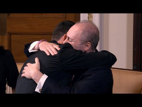 Steve Scalise and Paul Ryan's emotional reunion on Capitol Hill