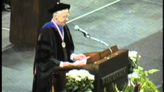 Chancellor John Wiley: Spring 2008 Commencement