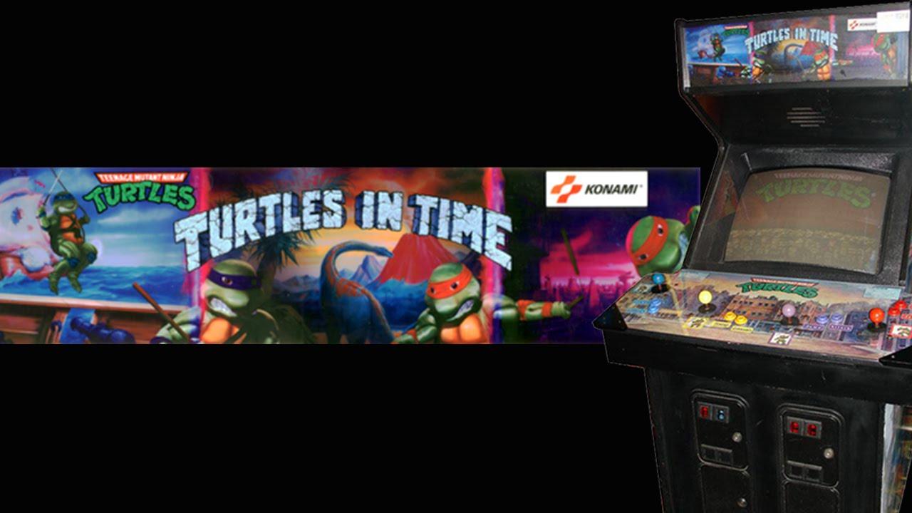 Teenage Mutant Ninja Turtles: Turtles in Time Arcade (1991 ...