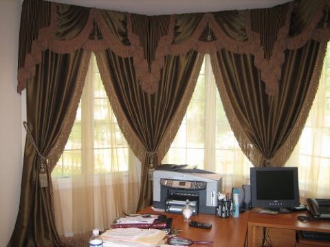 Window Drapes For Window Treatments & Curtains