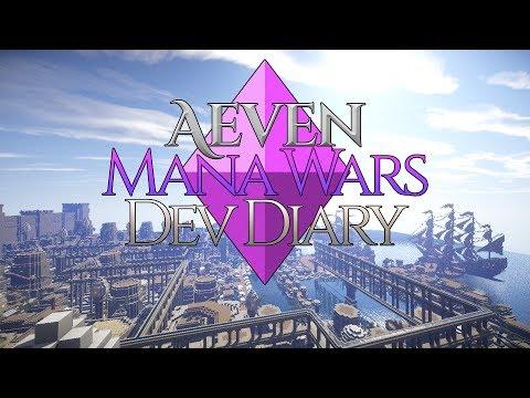 Aeven Mana Wars: Dev Diary #1 - Minecraft MMORPG