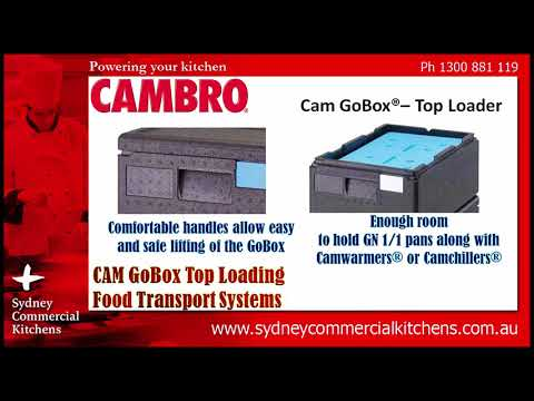 CAMBRO - CAM GoBox Top Loading Food Transport Systems