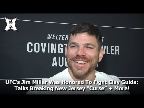"UFC Fight Night: Jim Miller Honored To Fight Clay Guida; Talks Breaking New Jersey ""Curse"" + More!"